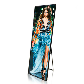 High contrast Indoor LED Poster for advertising