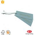 Custom paper carment swing hang tag printing