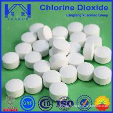 Comprimidos de nueva generación de dióxido de cloro para la piscina de productos químicos fabricados en China