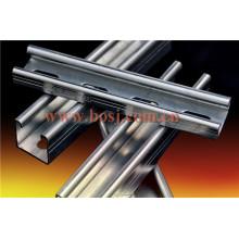 Perforierte Strut Channel Roll Forming Machine Hersteller Malaysia
