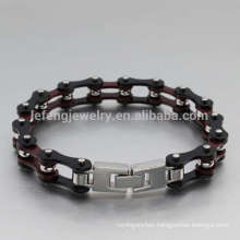 Cool stainless steel clasp mens motorcycle bracelet jewelry,cool bracelets for boys