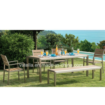 Aço Inoxidável Outdoor Garden Patio Furniture