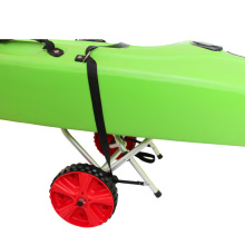 With tuff-tire wheels kayak cart