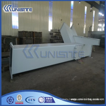customized steel chute flap for dredger (USC10-001)