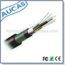China alta qualidade gyta 24 núcleo 48 núcleo single mode fibra óptica cabo para uso ao ar livre