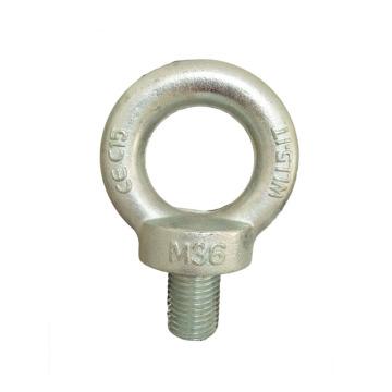 Parafusos de olhal de âncora forjada de aço galvanizado M14