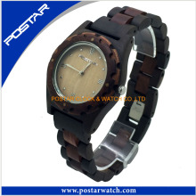 2016 Healthy Wood Watch with Wood Band OEM/ODM Wooden Watch