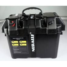 Motor Elétrico Trolling Caixa de Bateria Inteligente Power Center Preto