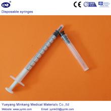 Seringa Estéril Descartável com Agulha 1ml (ENK-DS-062)