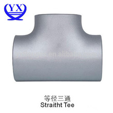 seamless equal reducing steel tee
