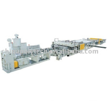 Provide high quality hollow sheet extrusion line