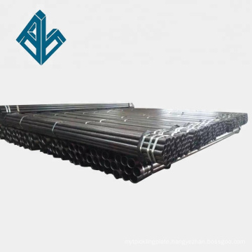 ASTM A53 Gr. B ERW schedule 40 black carbon steel pipe used for oil and gas pipeline