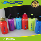 Colorful 16oz food grade PE drinking bottles