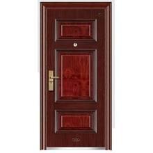 Diseño interior único de la puerta del hogar
