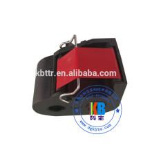 Máquina de franquiar postal cor vermelha frama fita cassete porte