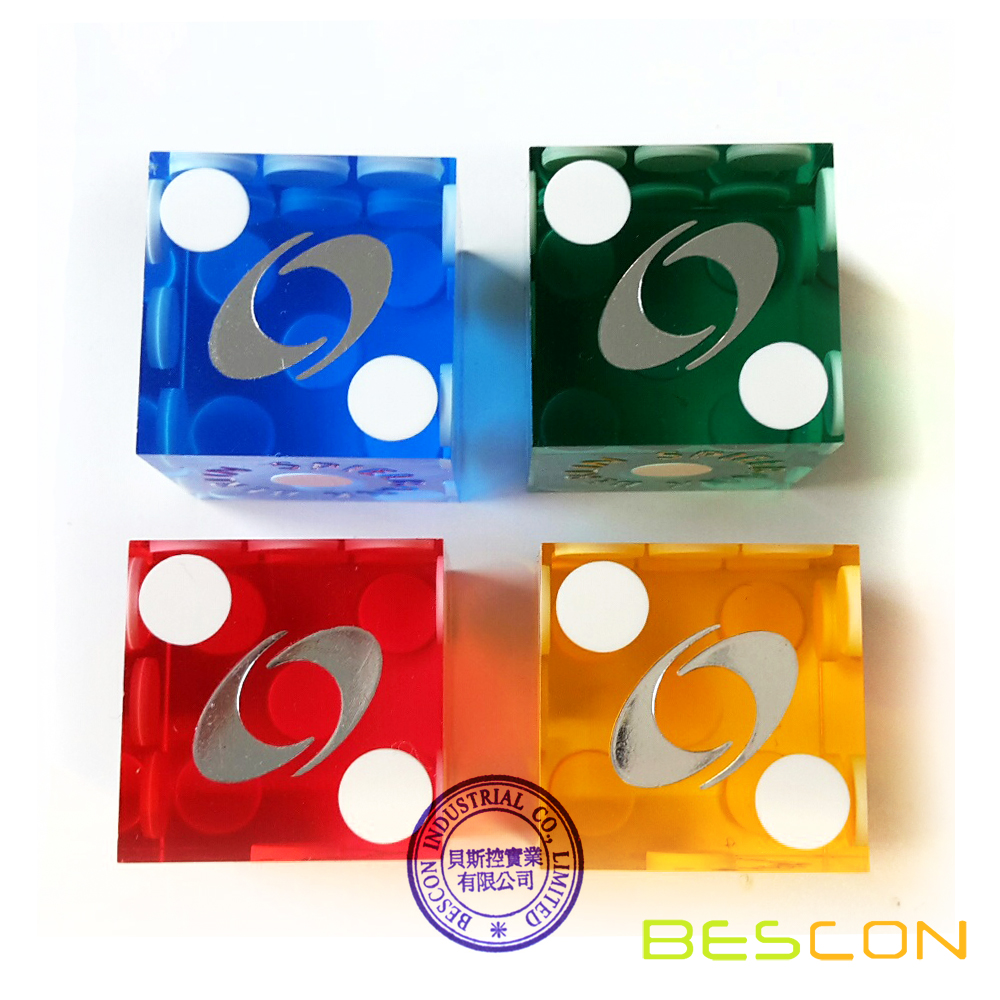 Custom Professional Casino Dice 19MM