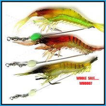 En gros Wh0007 6g populaires crevettes souples leurre de pêche
