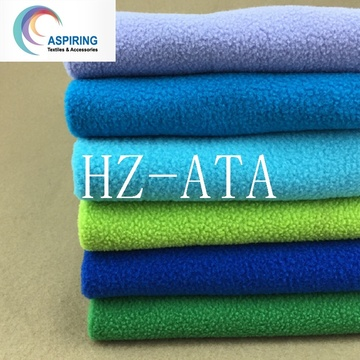 Anti-Static Knitted 100%Polyester Polar Fleece Fabric (DTY)