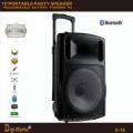 Guangzhou Fabricante Preço Bateria estéreo Bluetooth multifuncional Alto-falante de carrinho ativo