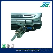 PC Screw Cable Lock ; Digit Computer Lock
