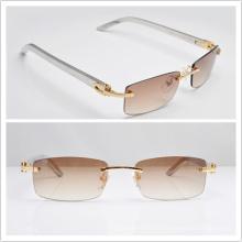 Ct Óculos de sol de aço inoxidável / Famous Brand Galsses / Rimless Sunglasses