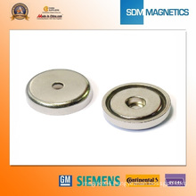 Pot Magnets Neodymium Countersunk Magnets