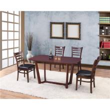 Modern Fashion Solid Wood Luxury Dining Set (FOH-BCA62)