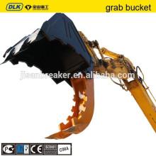 Hydraulischer Klemmeimer und Greifer für EC210 Bagger