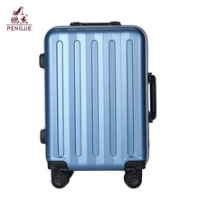20/24/28 ABS PC luggage with TSA clock