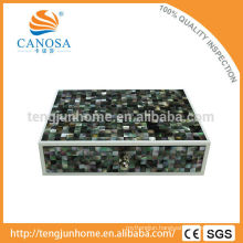 CBM-AB Hotel Amenity Black Mother of Pearl Box