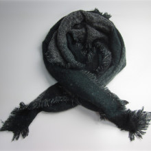 New Coming Check Acrylic Woven Scarf