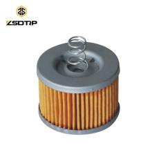 SCL-2012100086 Hecho en piezas de motocicleta china FZ-16 filtro de aceite