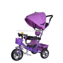 2016 neues Modell Baby Dreirad Kinder Dreirad / Stahl Material drei Rad Kind Dreirad Griff bar EVA Reifen Baby Trike zum Verkauf