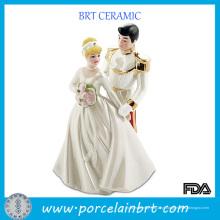 Príncipe e princesa porcelana lembranças de casamento