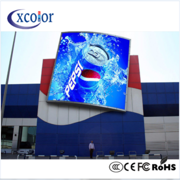 Consegna rapida Big Tv Advertising P6 Led Screen