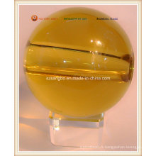 Grand verre Crystal Ball avec trou (S0113)