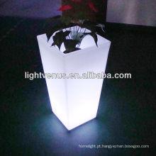 vaso de flores LED moderno à prova d'água