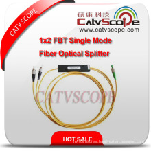 High Quality 1X2 Fbt Single Mode Fiber Optical Splitter