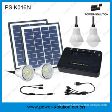 Solar Power for Rural Family Lighting and Mobile Charging