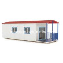 Comedor, dos habitaciones casa prefabricada (pH-52)