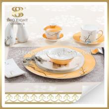 Set de vaisselle en porcelaine de style espagnol en porcelaine