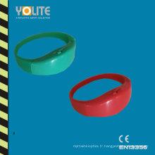Brassard LED réfléchissant avec Mul couleurs pour la sécurité