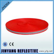 Cinta de poliester sola cara cinta reflectante de alta visibilidad