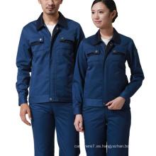Ropa de trabajo al por mayor Ropa de trabajo de seguridad de las mangas largas del algodón
