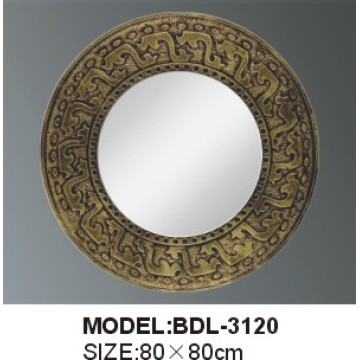 5mm Thickness Glass Silver Bathroom Mirror (BDL-3120)