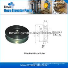 Peças da porta do elevador, roda da porta, sistema da porta do elevador