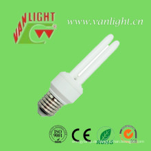 U Form Serie CFL Energiesparlampen, (VLC-2UT4-11W)