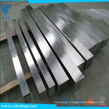 EN10272 маринованный и 2B диаметр 14 * 14 AISI 2205 квадратный брусок из нержавеющей стали