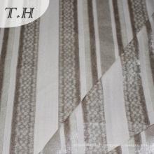 Tissu de velours tricoté 100% polyester 2015