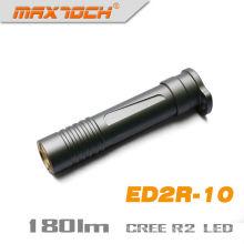 Maxtoch ED2R-10 Alumínio AAA Bateria Seca Cree LED R2 Lanterna